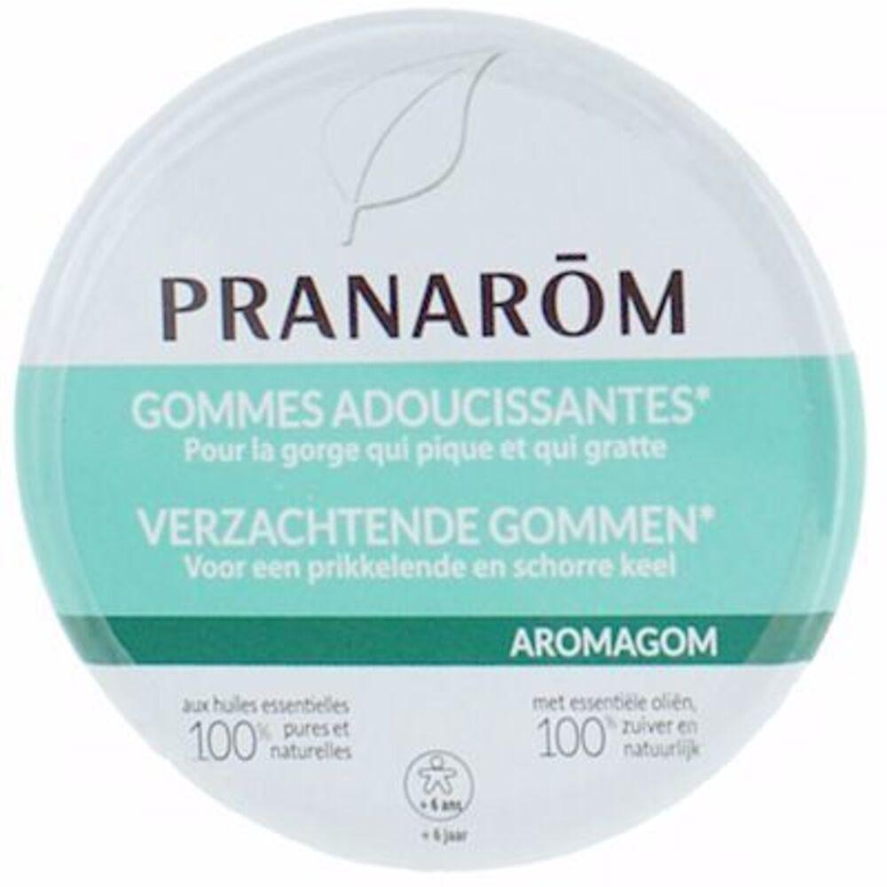 Pranarom aromagom gommes adoucissantes pour la gorge 45g - pranarom -216671