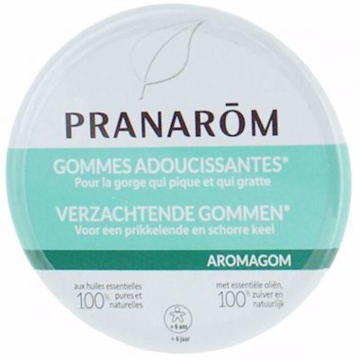 Pranarom aromagom gommes adoucissantes pour la gorge 45g Pranarom-216671