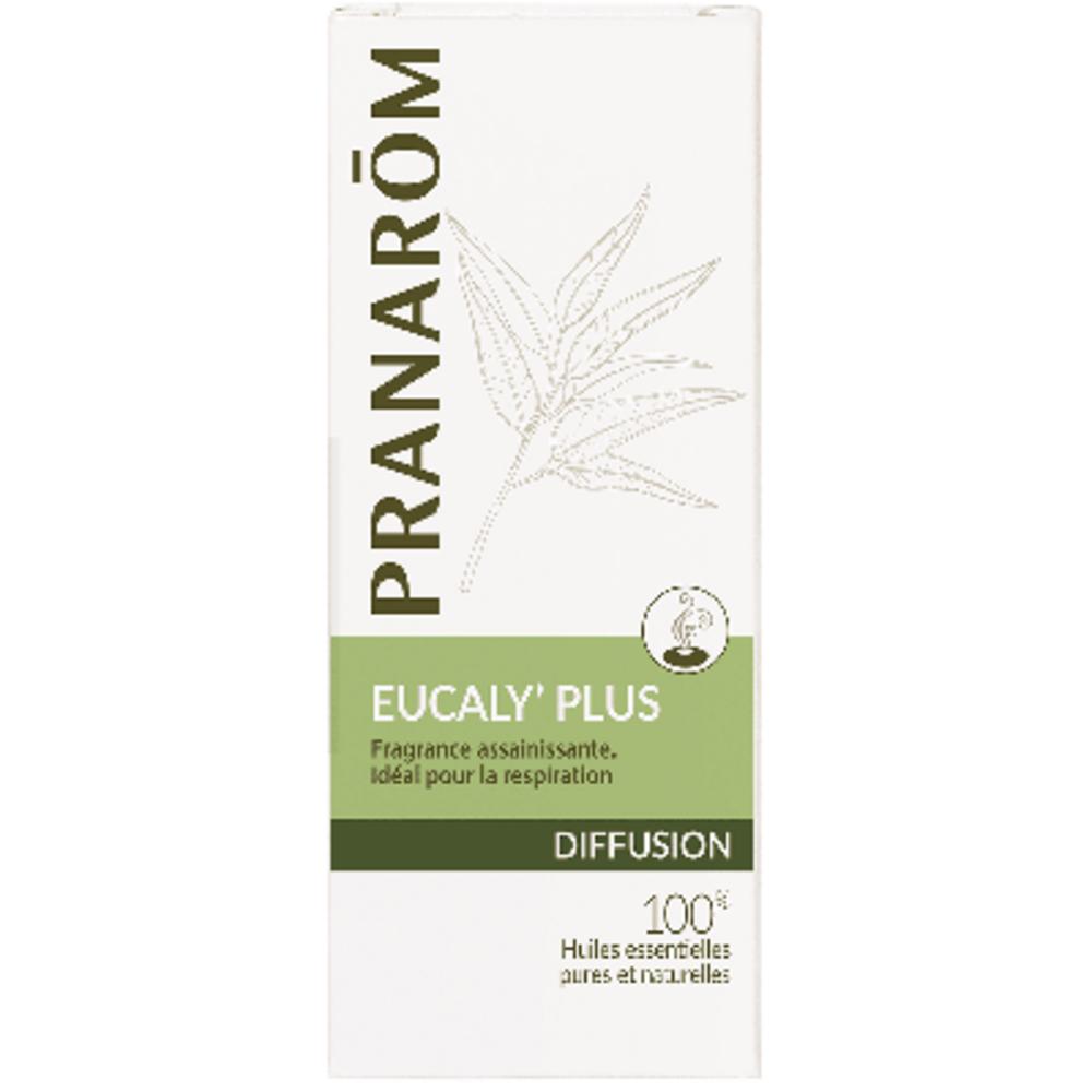 Pranarom diffusion eucaly' plus 30ml - 30.0 ml - synergies d'huiles essentielles - pranarom Assainit et purifie l'air. Procure une respiration aisée-12428
