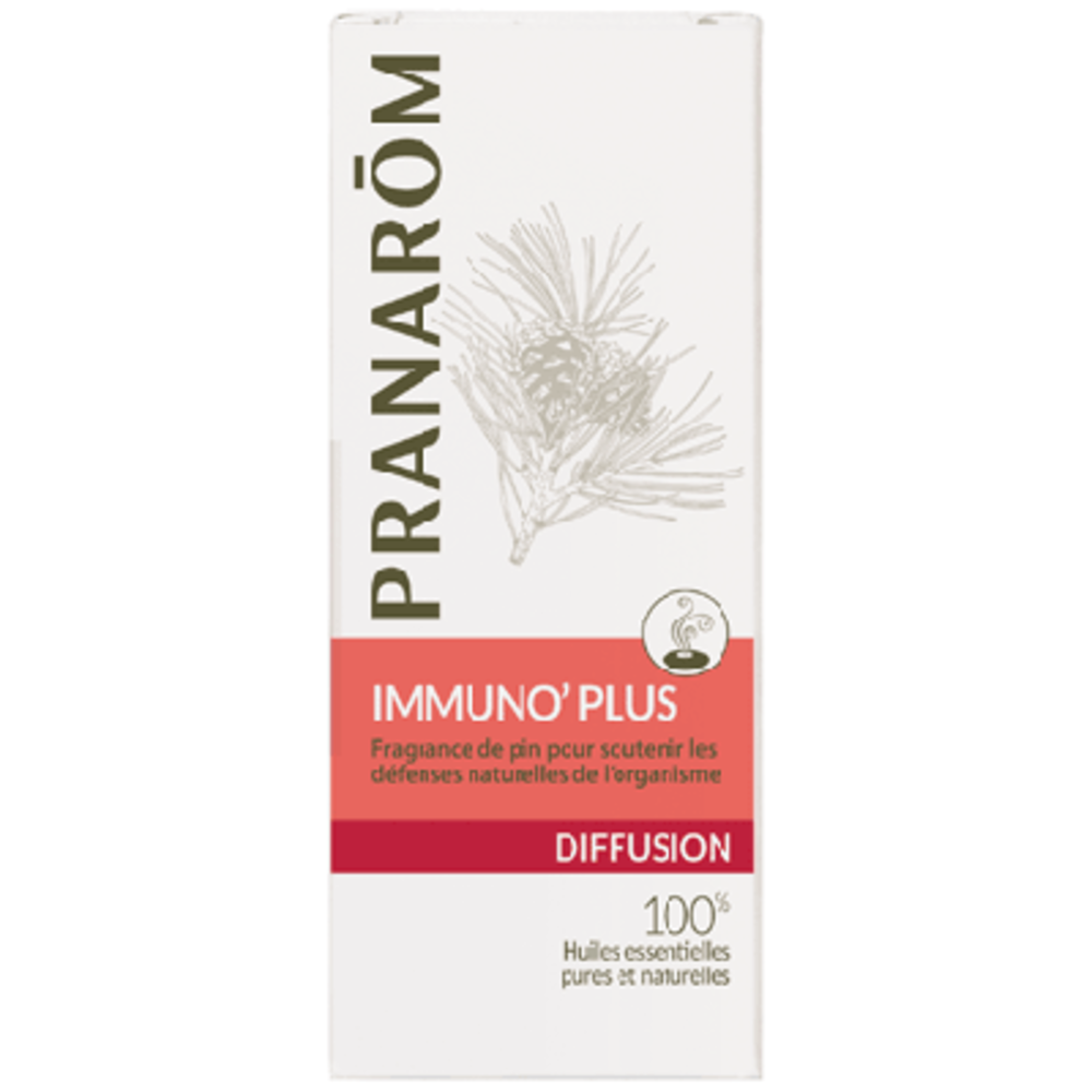 Pranarom diffusion immuno' plus 30ml - 30.0 ml - synergies d'huiles essentielles - pranarom Soutient les défense naturelles de l'organisme-12425