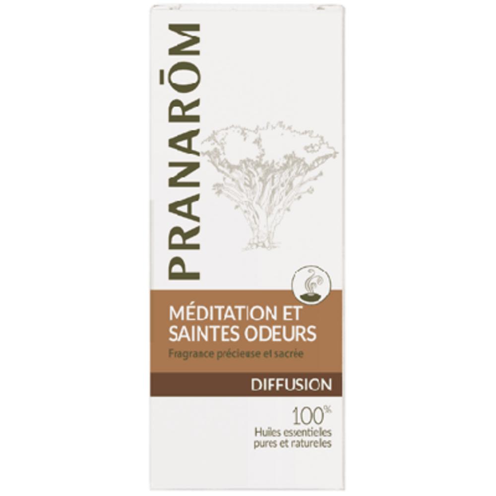 Pranarom diffusion méditation et saintes odeurs 30ml - 30.0 ml - synergies d'huiles essentielles - pranarom Fragrance précieuse et sacrée-12426