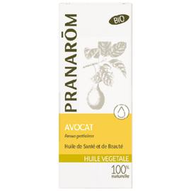 Pranarom huile végétale avocat bio 50ml - 50.0 ml - huiles végétales - pranarom peaux sèches et irritées-12390