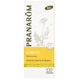 Pranarom huile végétale carotte bio 50ml - 50.0 ml - huiles végétales - pranarom peaux atones en manque d'éclat-12394