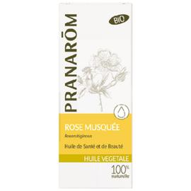 Pranarom huile végétale rose musquée bio 50ml - 50.0 ml - huiles végétales - pranarom Préserve du vieillissement-12402