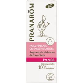 Pranarom pranabb huile de massage lmmunité bio 10ml - divers - pranarom -141013