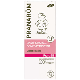 Pranarom pranabb spray massage confort digestif bio 15ml - divers - pranarom -189785