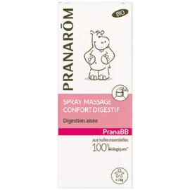 Pranarom pranabb spray massage confort digestif bio 15ml - divers - pranarom -189785