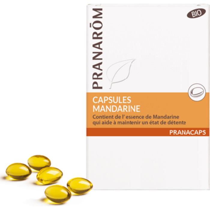 Pranarom pranacaps mandarine 30 capsules Pranarom-142552