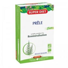 Prêle ampoules bio - 20.0 unites - elimination-minéralisation - super diet Souplesse des articulations et reminéralisation-4446