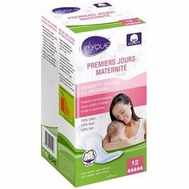 Premiers jours maternité 12 serviettes - unyque -214626