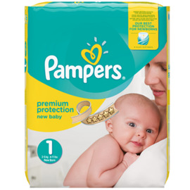 Premium protection 2-5kg taille 1 - pampers -214257