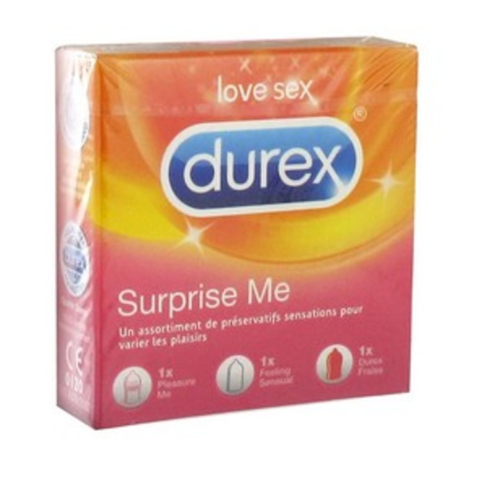 Preserv surprise me / 3 Durex-147832