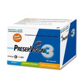 Preservision 3 - 180 capsules - bausch & lomb -148036
