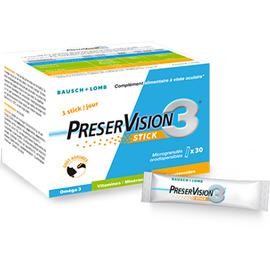 Preservision 3 - 30 sticks - bausch & lomb -206314