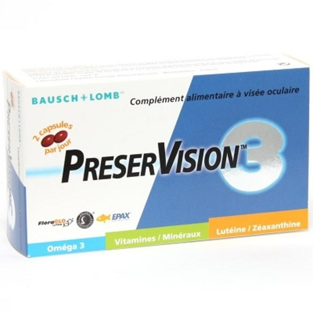 Preservision 3 - 60 capsules - bausch & lomb -147841