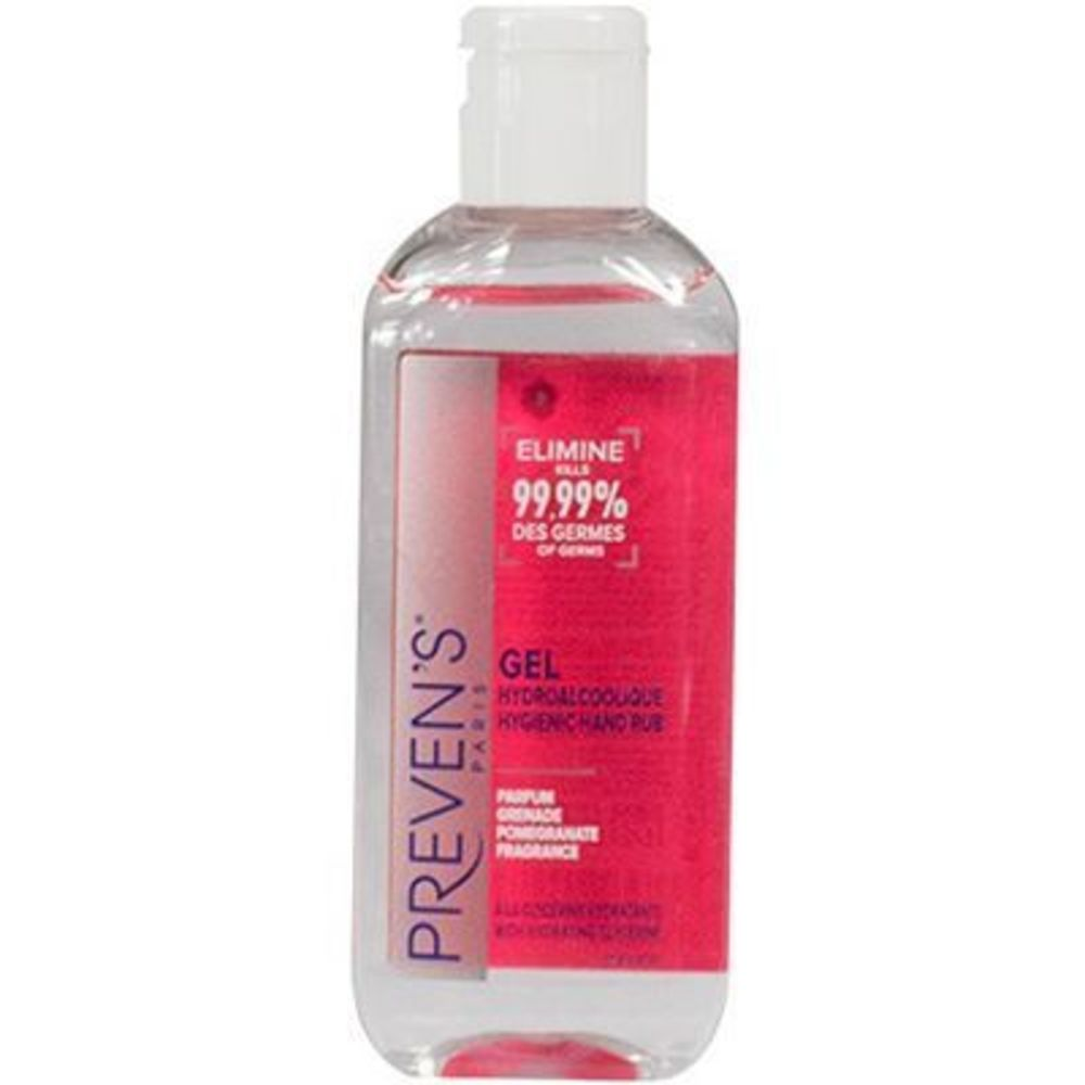 Preven's gel hydroalcoolique grenade 100ml - preven's -220797