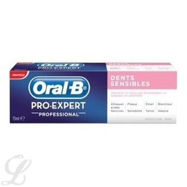 Pro expert professional dents sensibles - 75.0 ml - oral-b -147220
