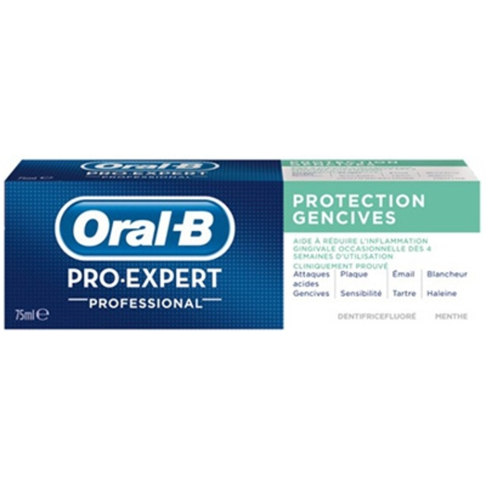 Pro-expert professionnal protection gencives Oral b-144923