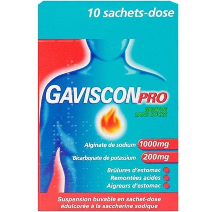 Pro menthe sans sucre Gaviscon-210932