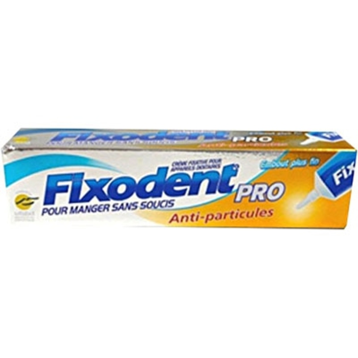 Pro plus anti-particules crème adhésive 40g Fixodent-146034