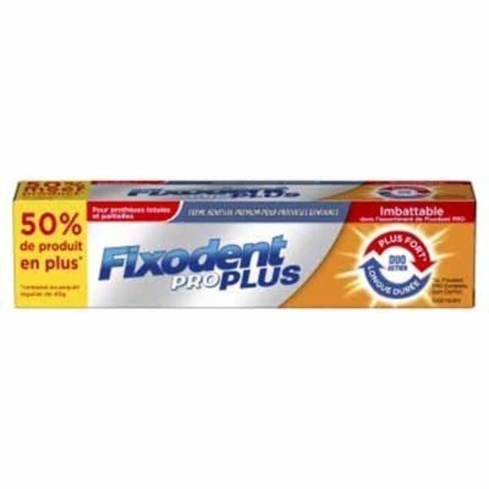 Pro plus crème adhésive premium 60g Fixodent-216085