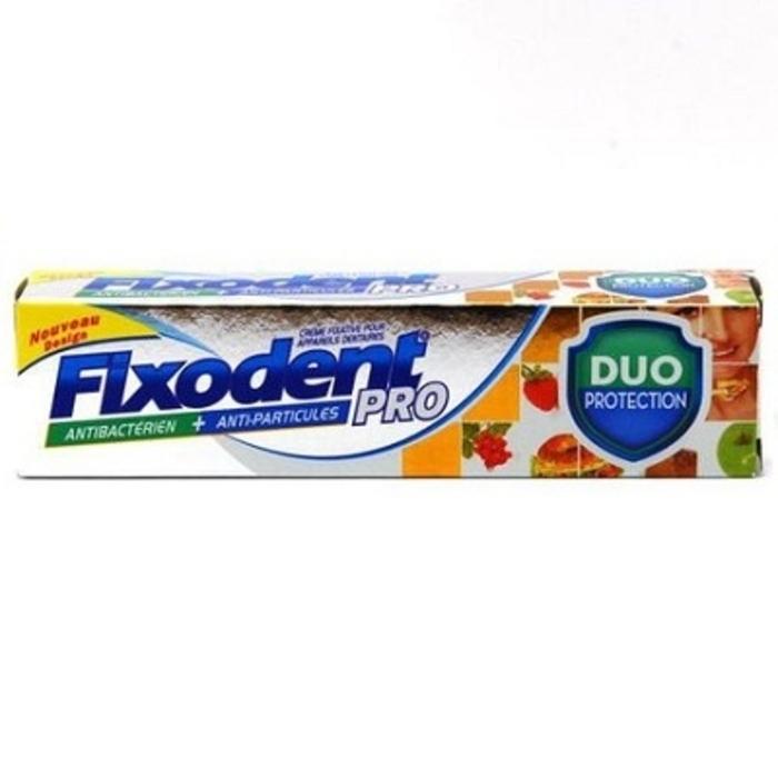 Pro plus duo protection crème adhésive 40g Fixodent-145279