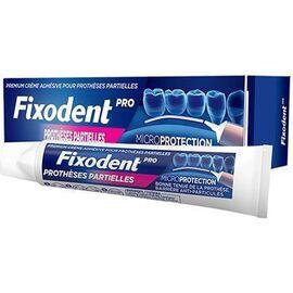 Pro prothèses partielles 40g - fixodent -228063