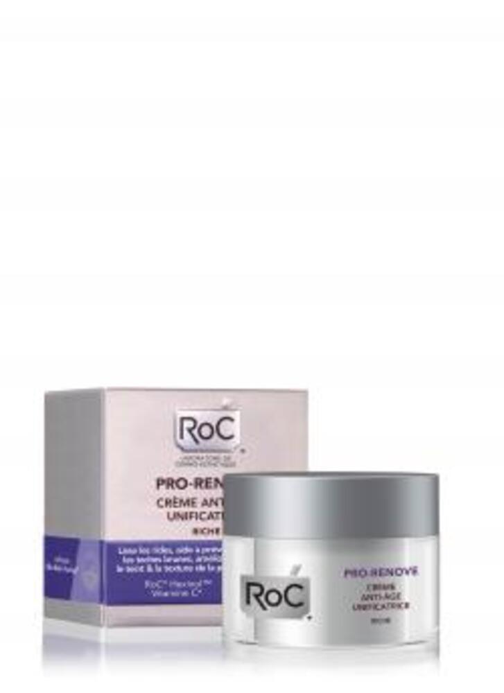 Pro-renove crème anti-age unificatrice riche Roc-143000