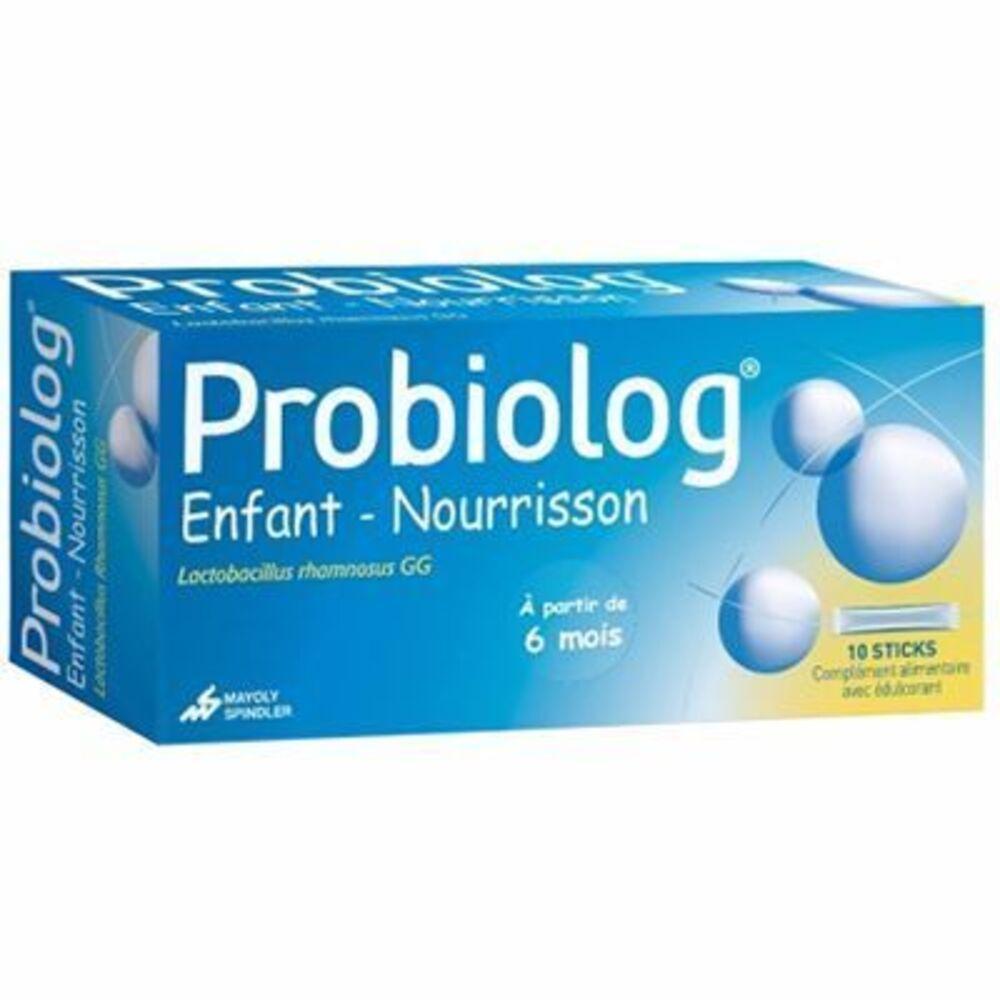 Probiolog enfant nourrisson 10 sticks - mayoly spindler -210557
