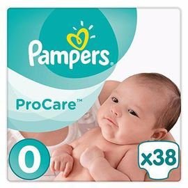 Procare premium protection 1-2,5kg taille 0 - 38 couches - pampers -216066