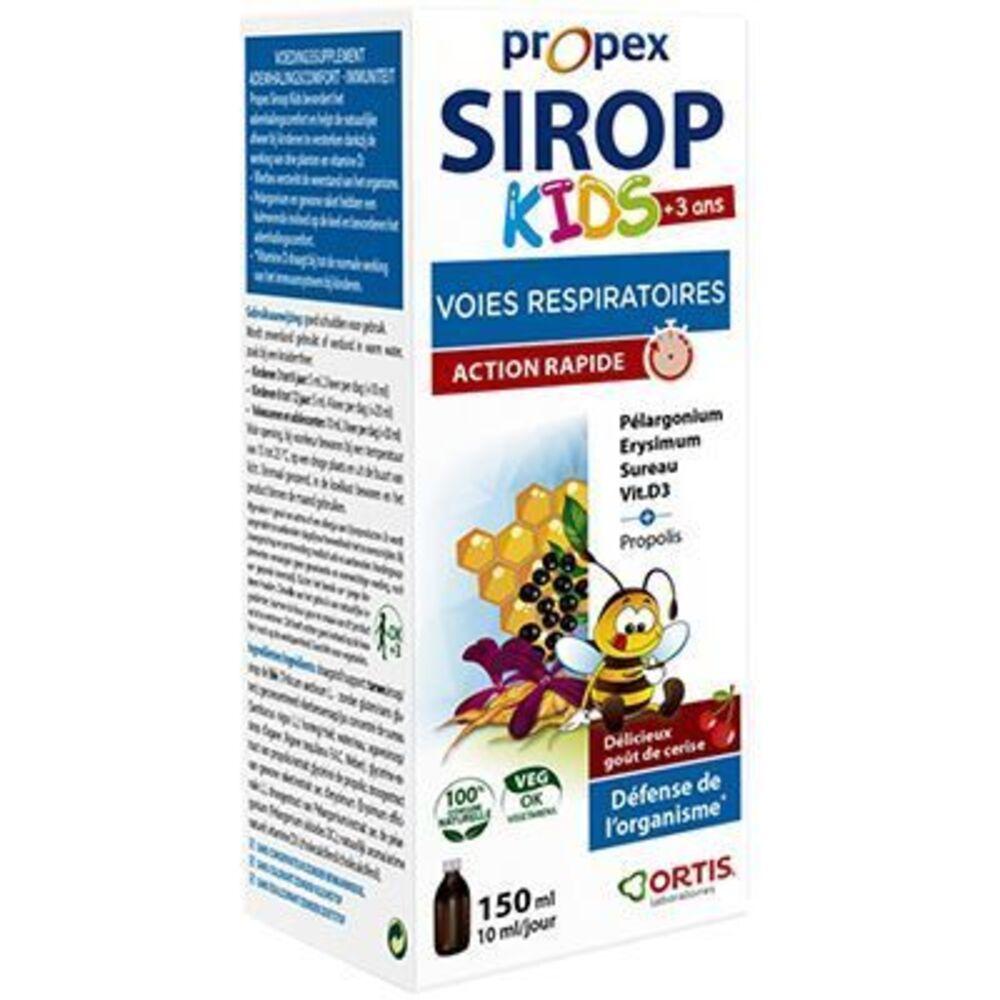 Propex sirop kids voies respiratoires 150ml - ortis -222831