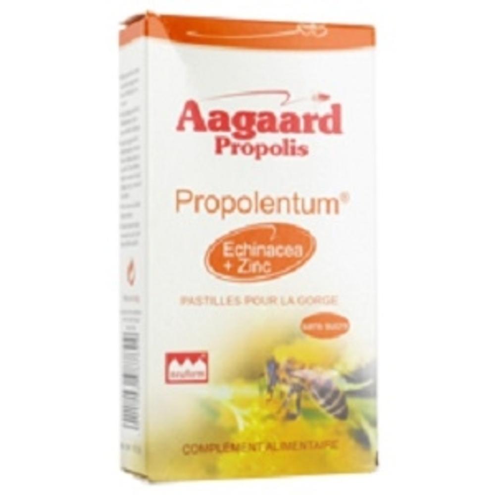 Propolentum - 30.0 unites - pratiques - aagaard propolis Agréables pour la gorge-1066