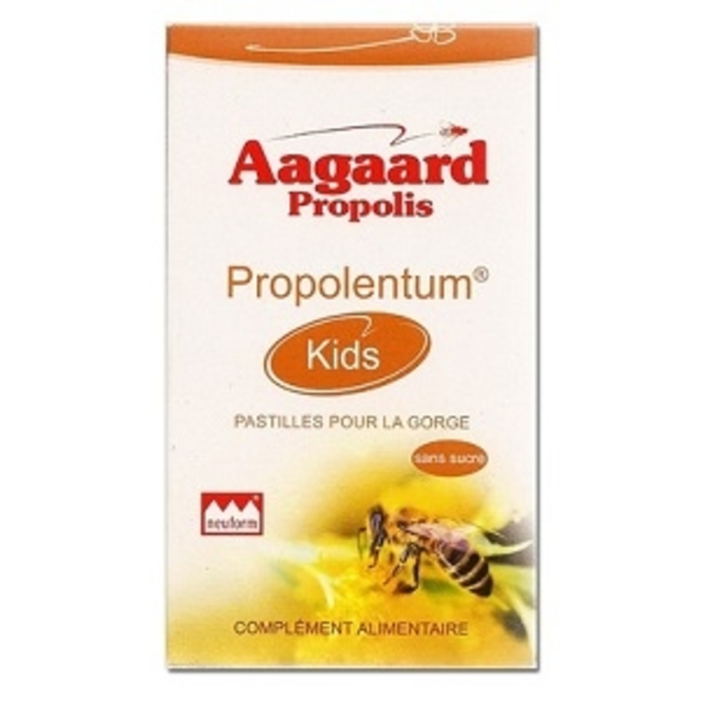 Propolentum kids - 30.0 unites - pratiques - aagaard propolis Renforce les défenses naturelles et apporte énergie-1069