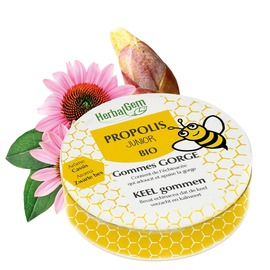 Propolis gommes enf bio / 24 - 45.0 g - herbalgem -229469