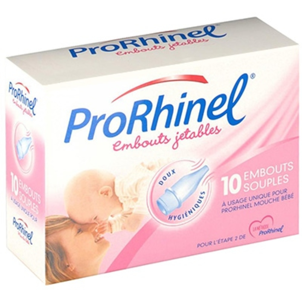 PRORHINEL Embouts Jetables Souples - Prorhinel -144280