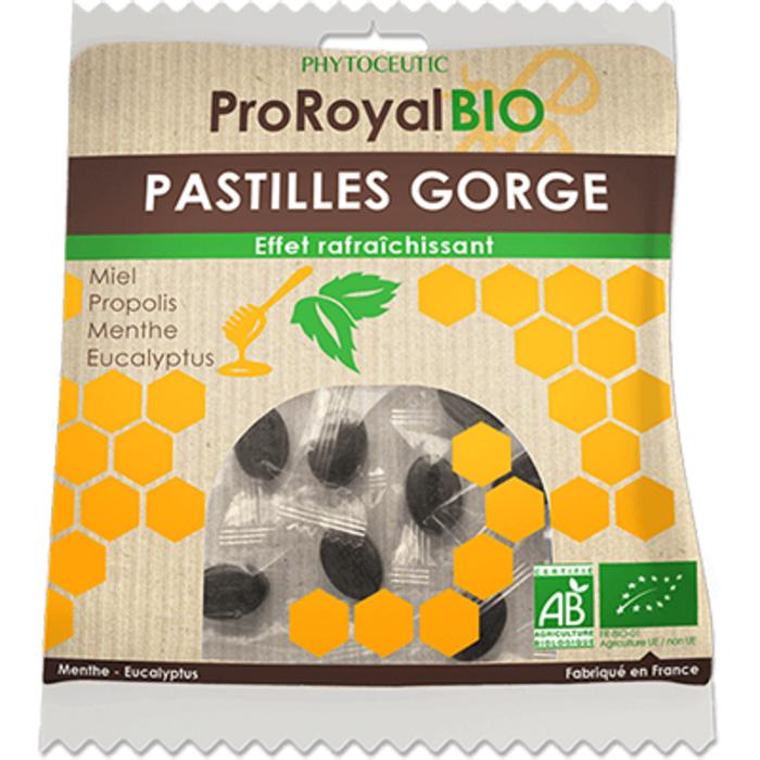 Proroyal bio pastilles gorge menthe eucalyptus 50g Phytoceutic-222635