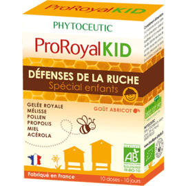 Proroyal kid défenses de la ruche spécial enfants 2x10 doses - 10.0 unites - phytoceutic -125830
