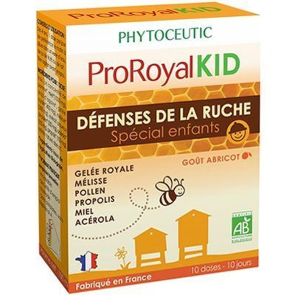 Proroyalkid défenses de la ruche spécial enfants 10 doses - 10.0 ml - phytoceutic -125331
