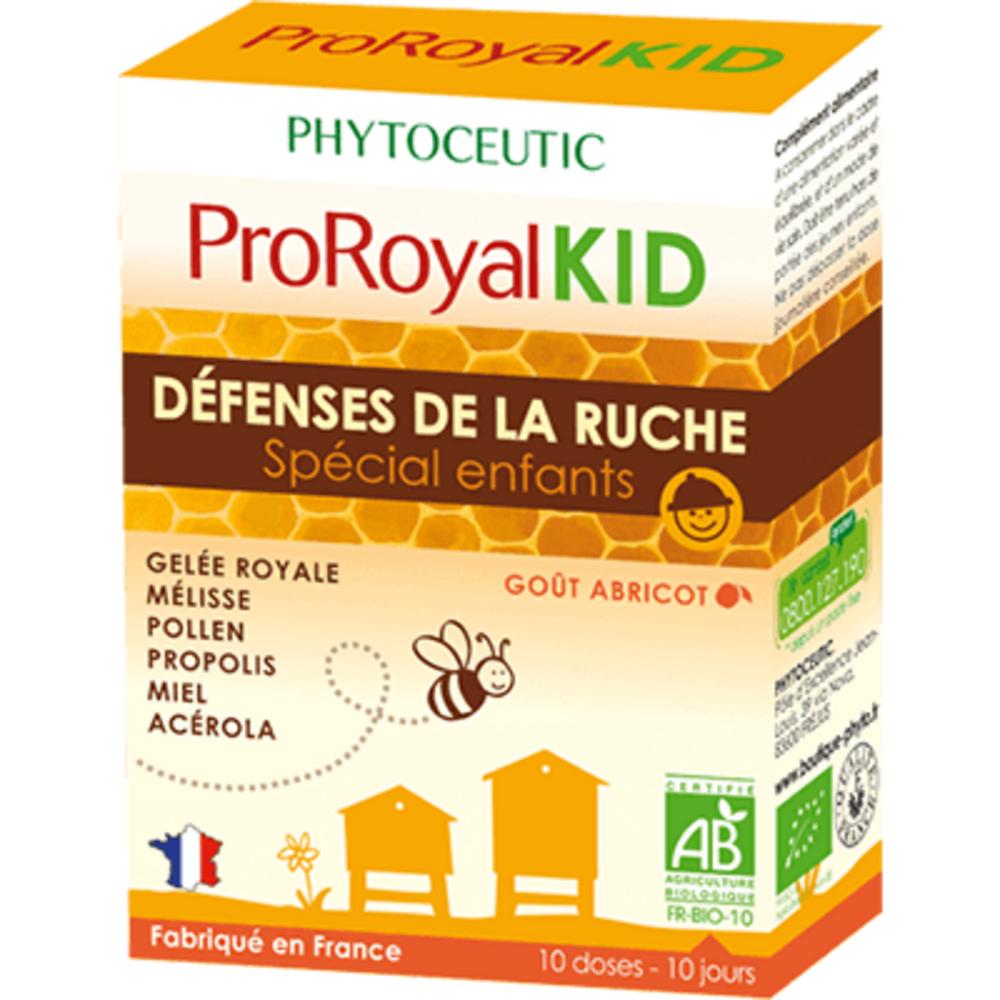 Proroyalkid défenses de la ruche spécial enfants 2x10 doses - 10.0 unites - phytoceutic -125830