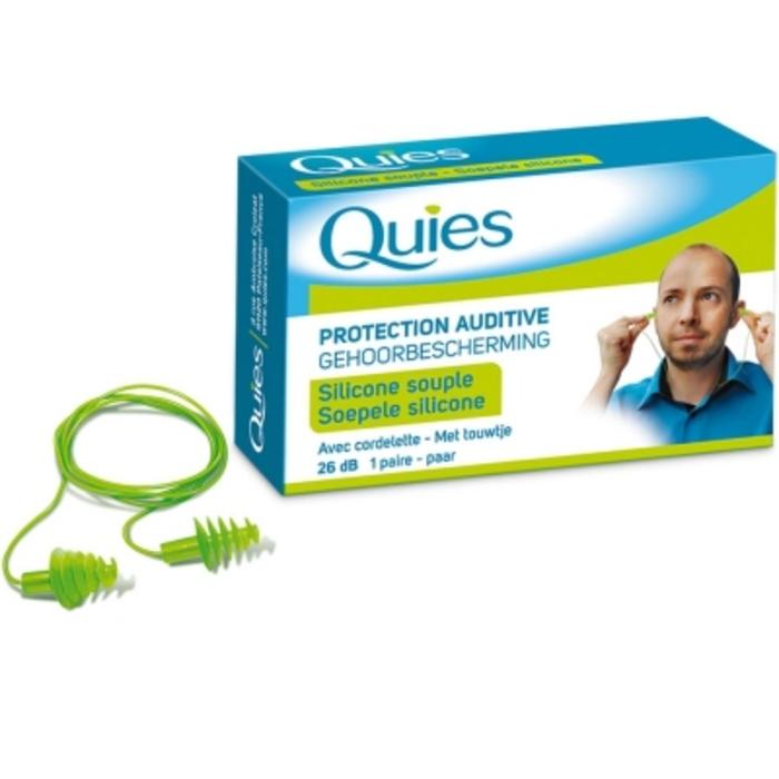 Protection auditive avec cordelette Quies-199201