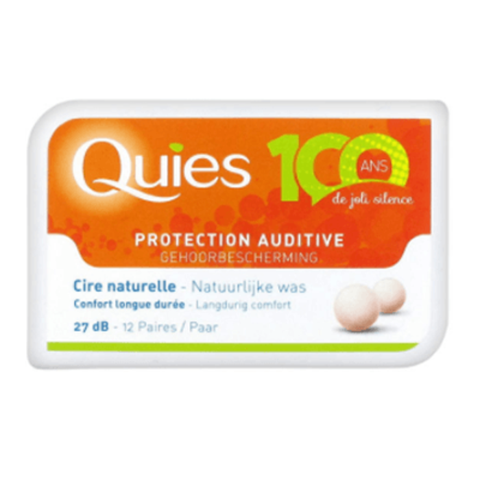 Protection auditive cire x12 Quies-198678