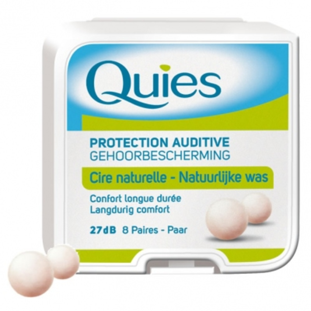 Protection auditive en cire x8 Quies-145206