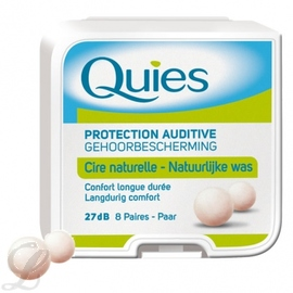 Protection auditive en cire x8 - quies -145206