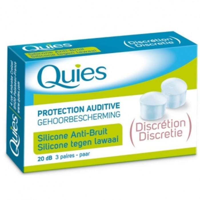 Protection auditive silicone anti-bruit Quies-201420