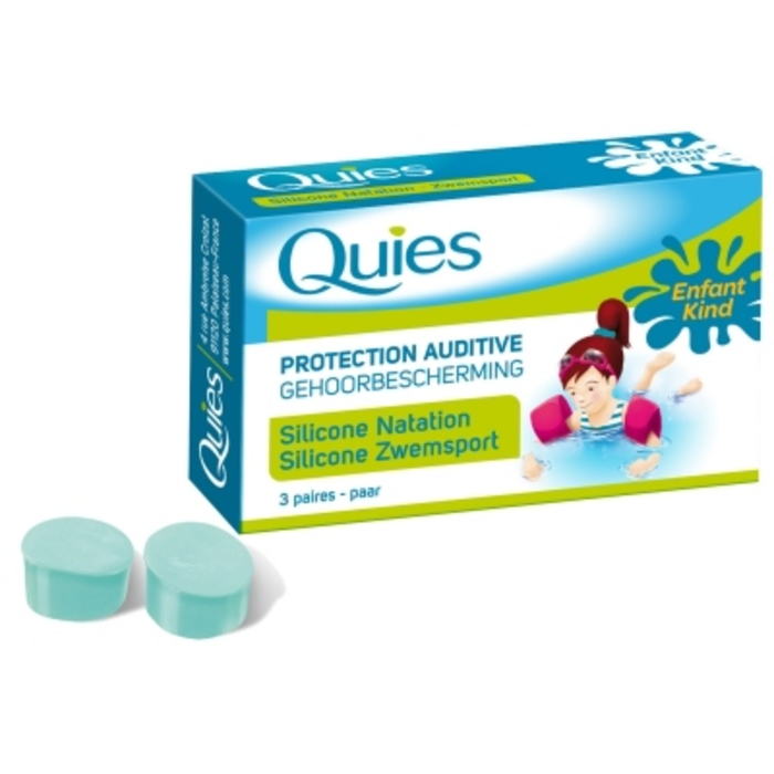 Protection auditive silicone natation enfant Quies-145627