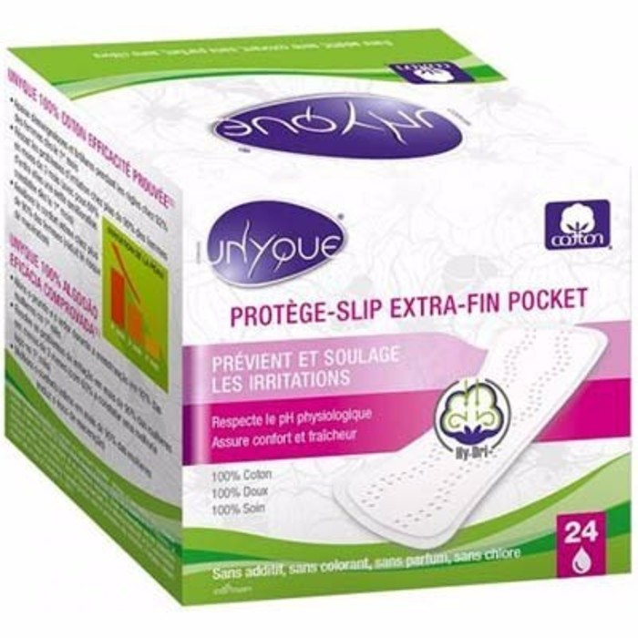 Protège-slip extra-fin pocket x24 Unyque-214588