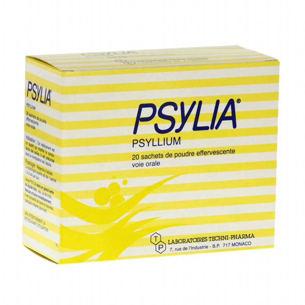 Psylia poudre - 20 sachets - 6.0 g - laboratoires techni-pharma -193526