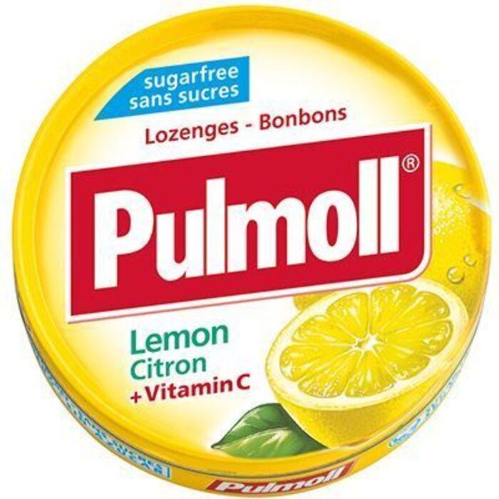 Pulmoll citron vitamine c 45g Pulmoll-148227