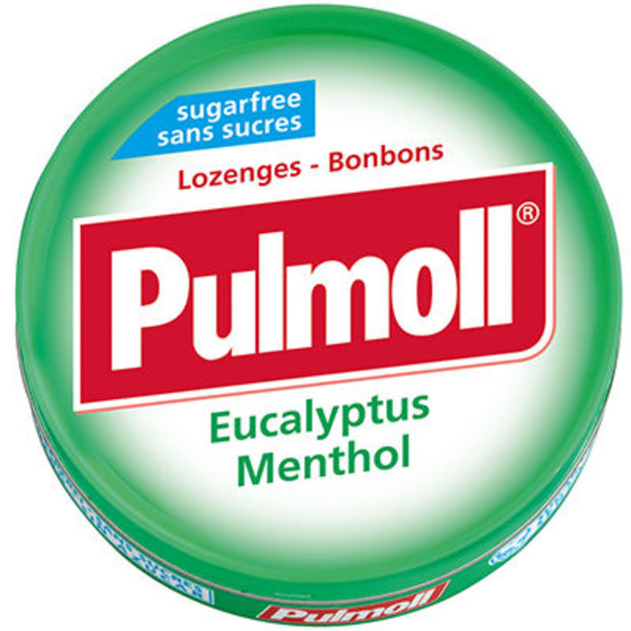 Pulmoll eucalyptus menthol 45g Pulmoll-146125