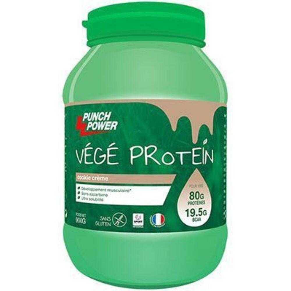 Punch power végé protéin cookie crème 900g - punch-power -221983